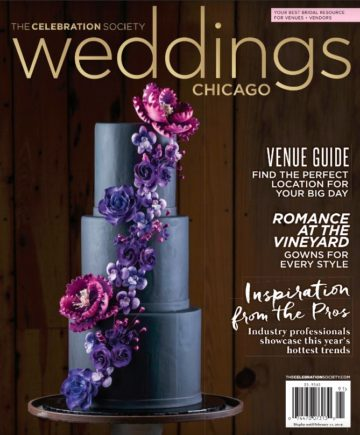Wedding Magazine Cover - Celebration Society