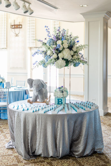 Elephant Theme Baby Shower at the Glen Country Club