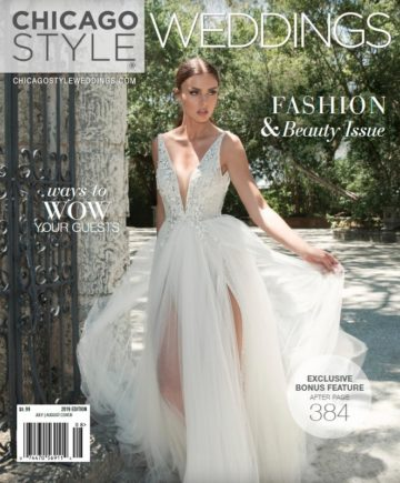 Chicago Style Weddings July August Cover
